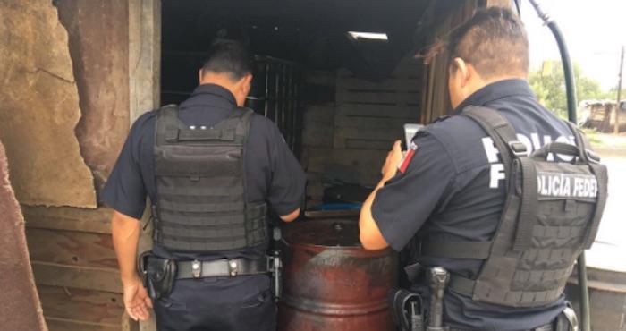Policía Federal desmantela puntos de venta de