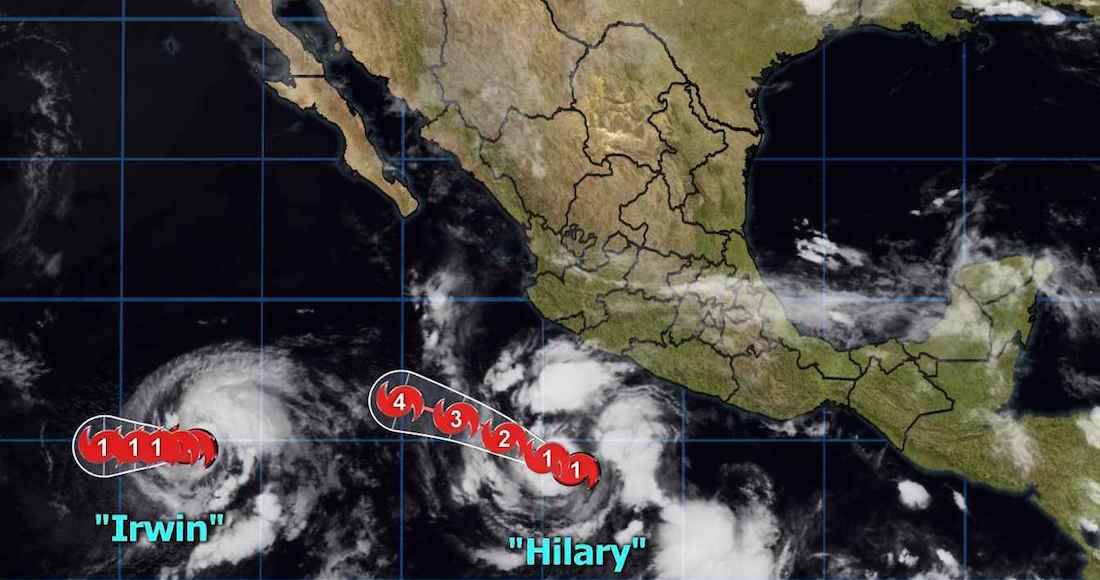 Huracán Hillary Provocará Tormentas en Michoacán, Oaxaca y Chiapas