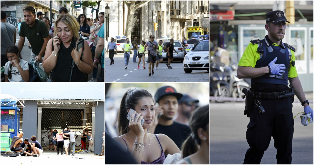 Facebook y Google activan botón de seguridad por ataque en Barcelona