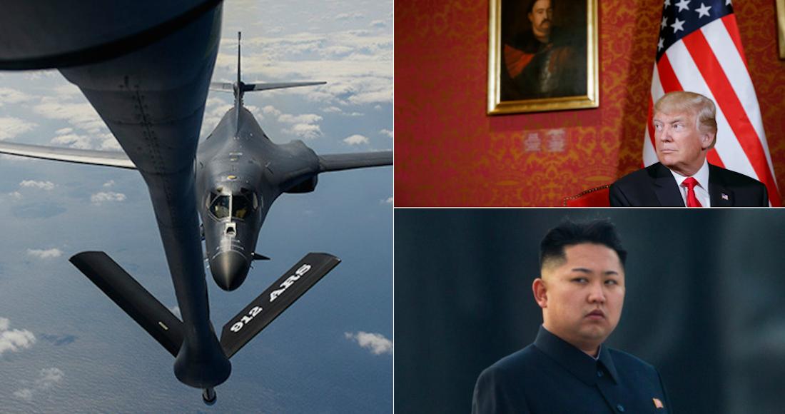Aviones norteamericanos se han desplazado hacia Guam