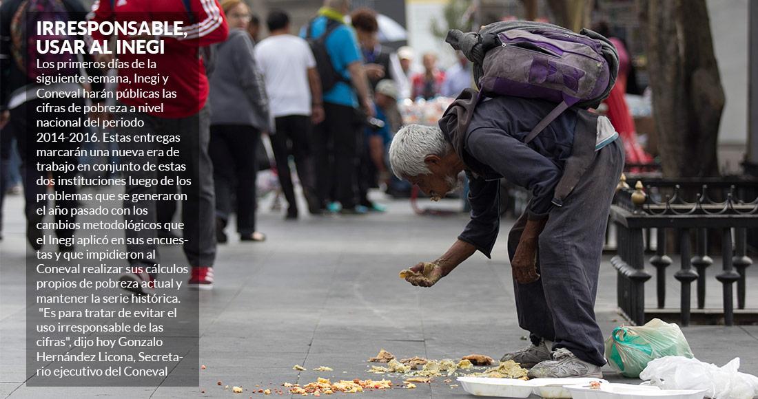 Complica INEGI medición de pobreza