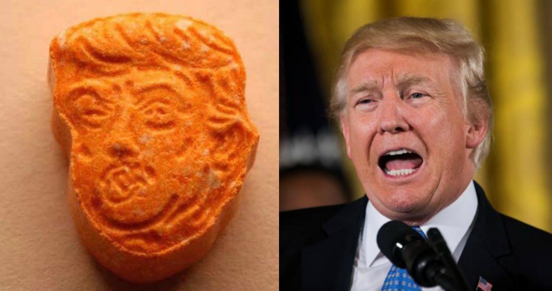 Incautan pastillas de ecstasy con la cara de Trump