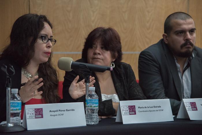 Observatorio Nacional del Feminicidio descarta suicidio de Lesvy Osorio