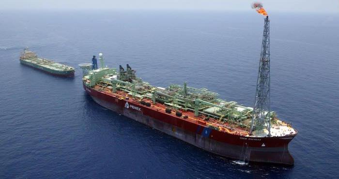 Las exportaciones petroleras de México crecieron 19.3 % en julio a tasa anual