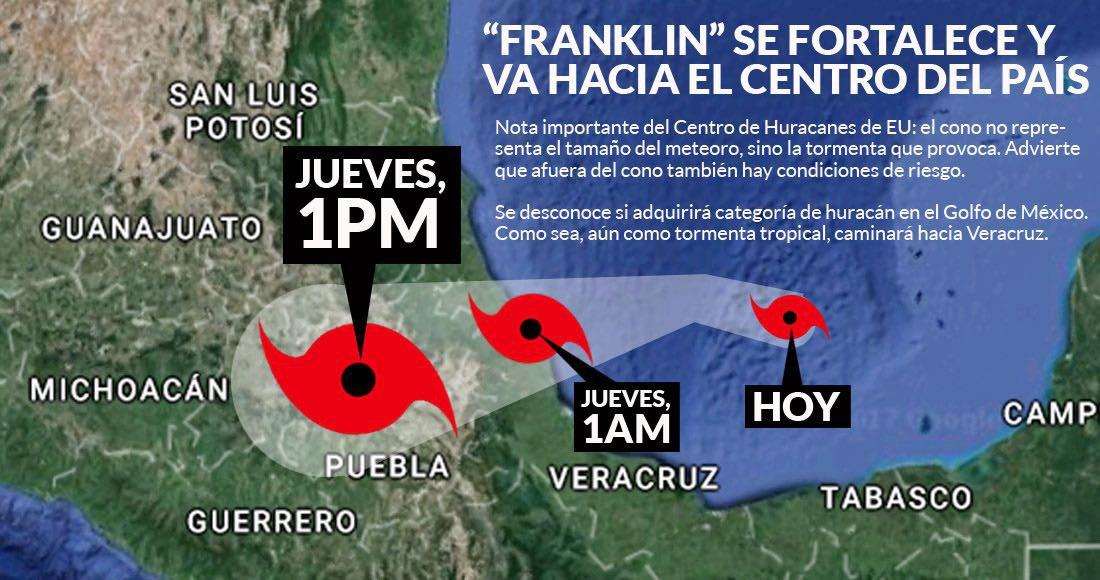 Reportan saldo blanco en Veracruz tras paso de