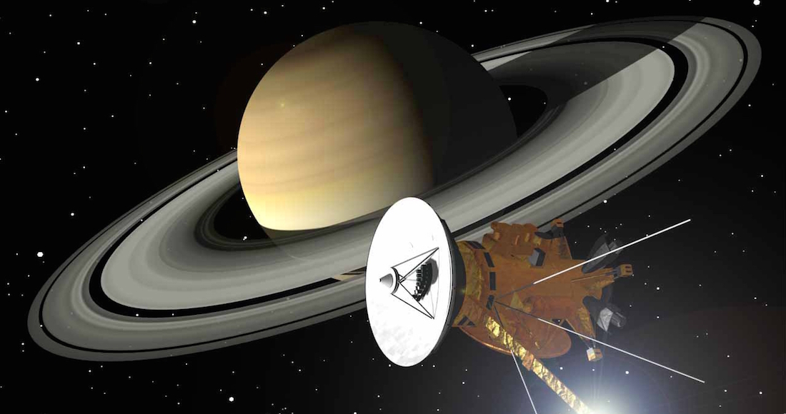 La sonda de la NASA Cassini se prepara para su gran final