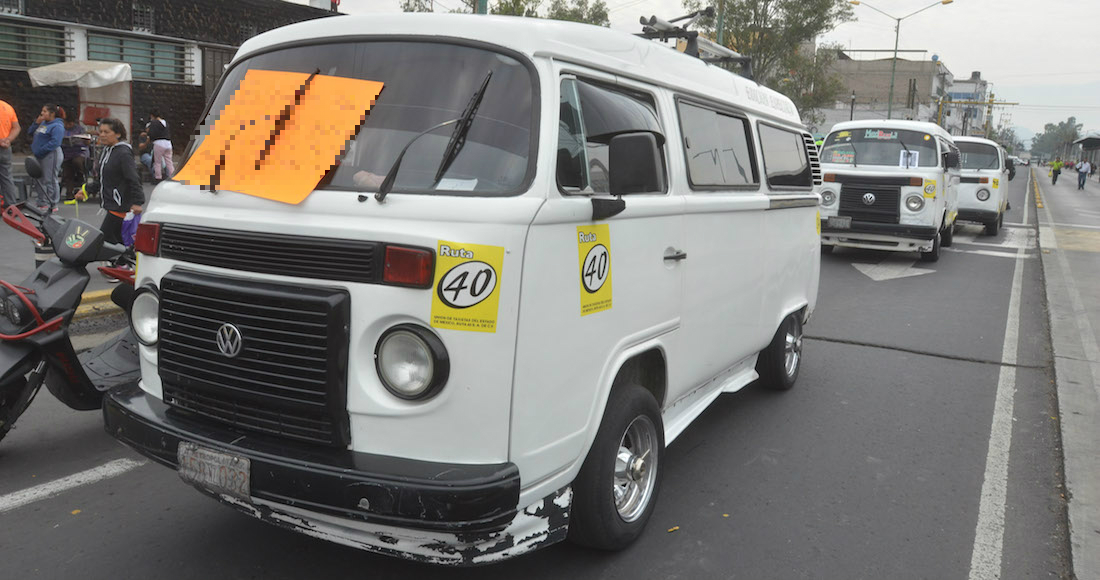 Sube tarifa de transporte en Edomex — OFICIAL