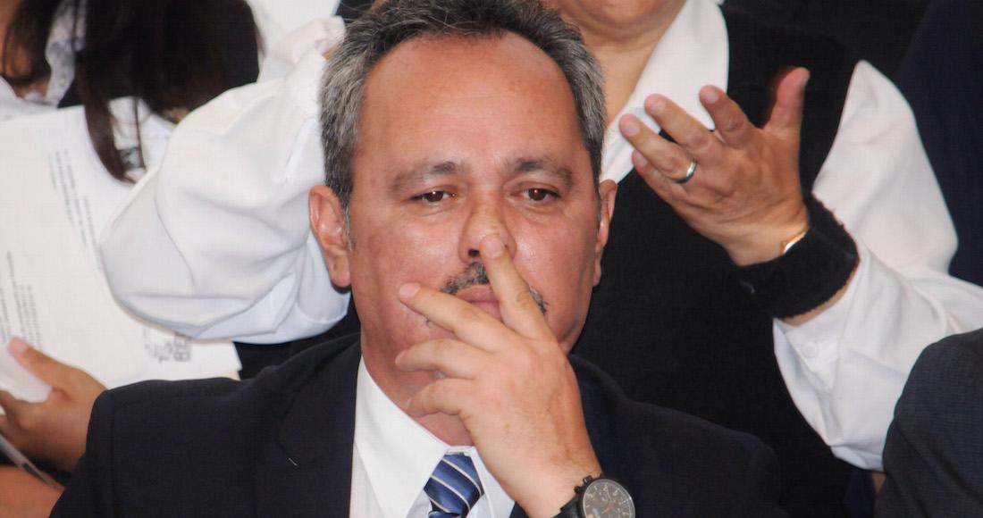 Rigoberto Salgado presenta pruebas en su defensa