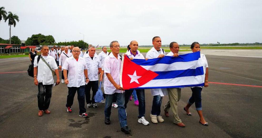 Brigada médica cubana parte a México ayudar a víctimas del terremoto