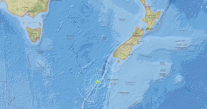 Terremoto de magnitud 6,1 sacudió Nueva Zelanda