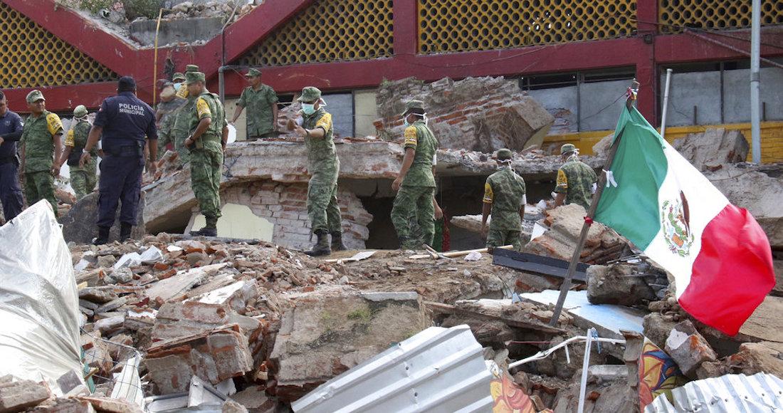 Suman 71 los muertos por sismo en el Istmo de Tehuantepec, México