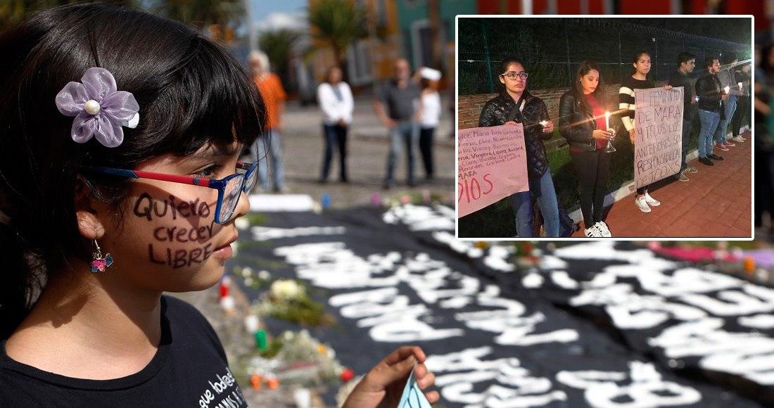 Identifica a su presunto agresor sexual durante marcha por Mara Castilla