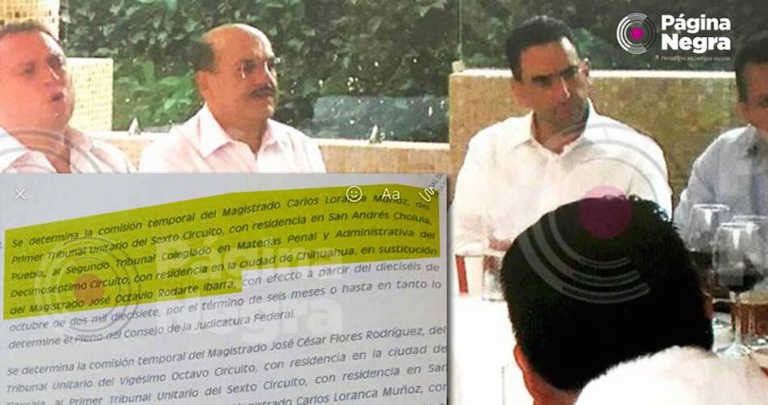 El Magistrado de Puebla que se asoció con líder huachilero también favoreció a parientes: Reforma