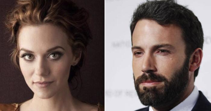 Actriz acusa a Ben Affleck de haberla 'manoseado'