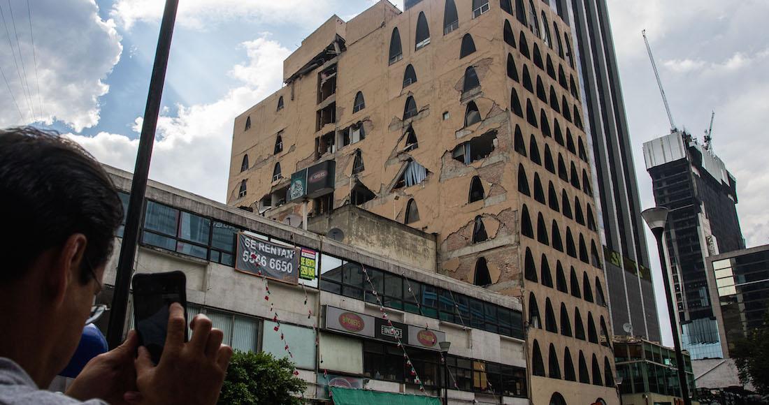 Iniciarían la próxima semana demolición de inmuebles en la CDMX