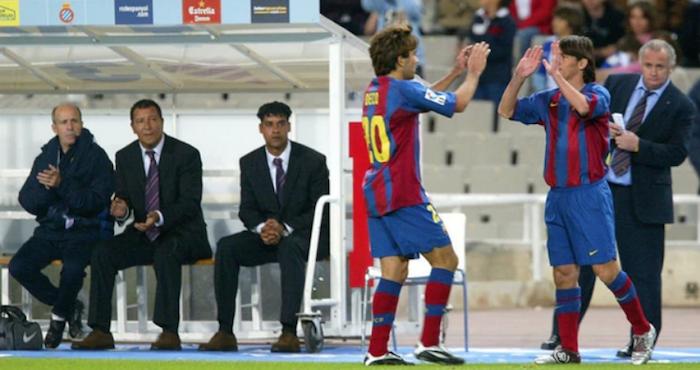 Hoy se cumplen 13 años del debut de Messi con el Barcelona