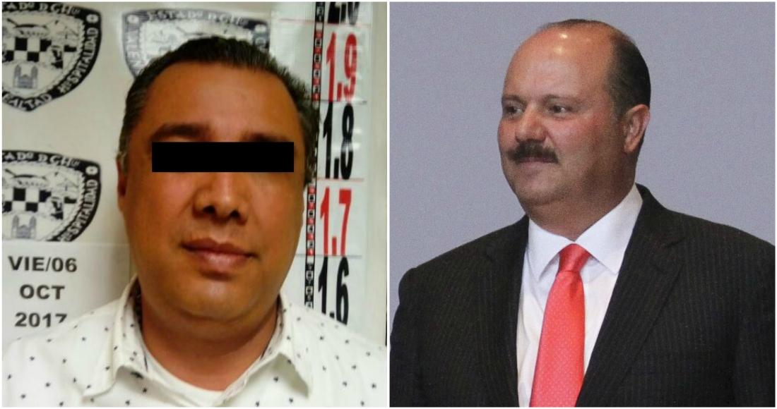 Detienen a exsecretario de finanzas del PRI en el estado de Chihuahua