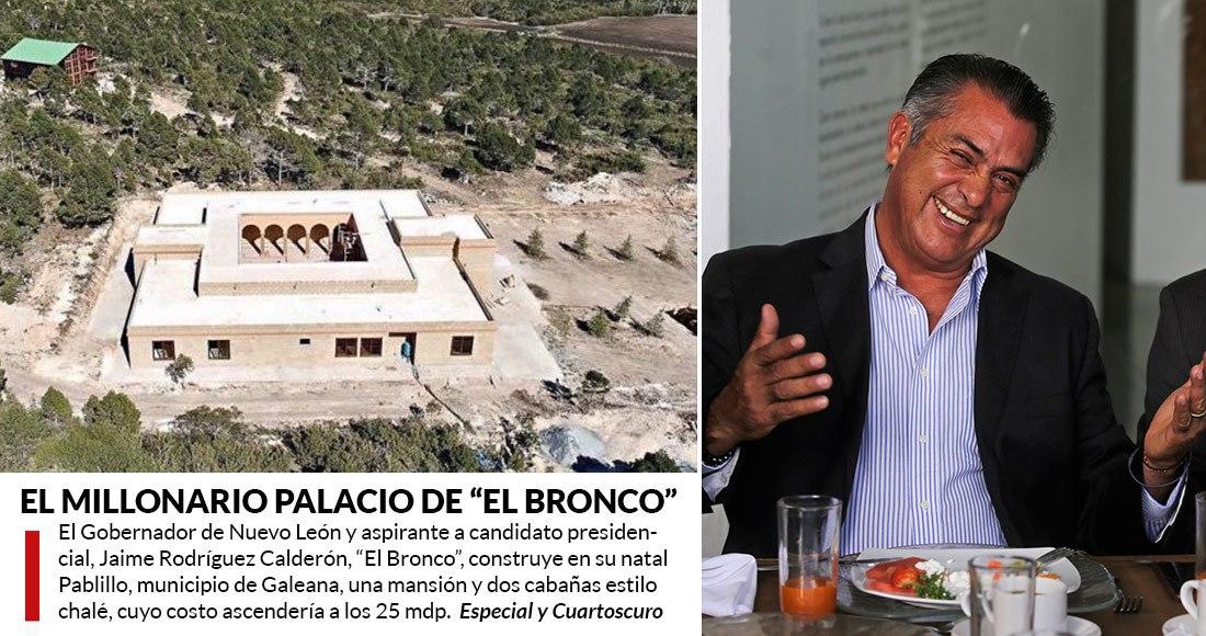 Tras escándalo por propiedad, 'El Bronco' ¿vende su casa?