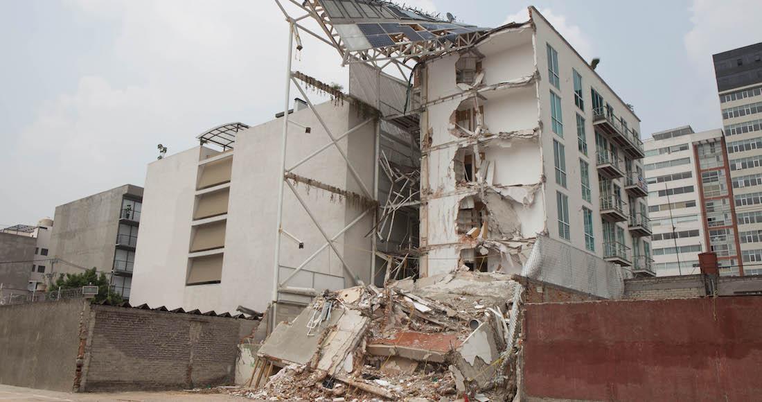 Vinculan a proceso a detenido por colapso de edificio en la CdMx