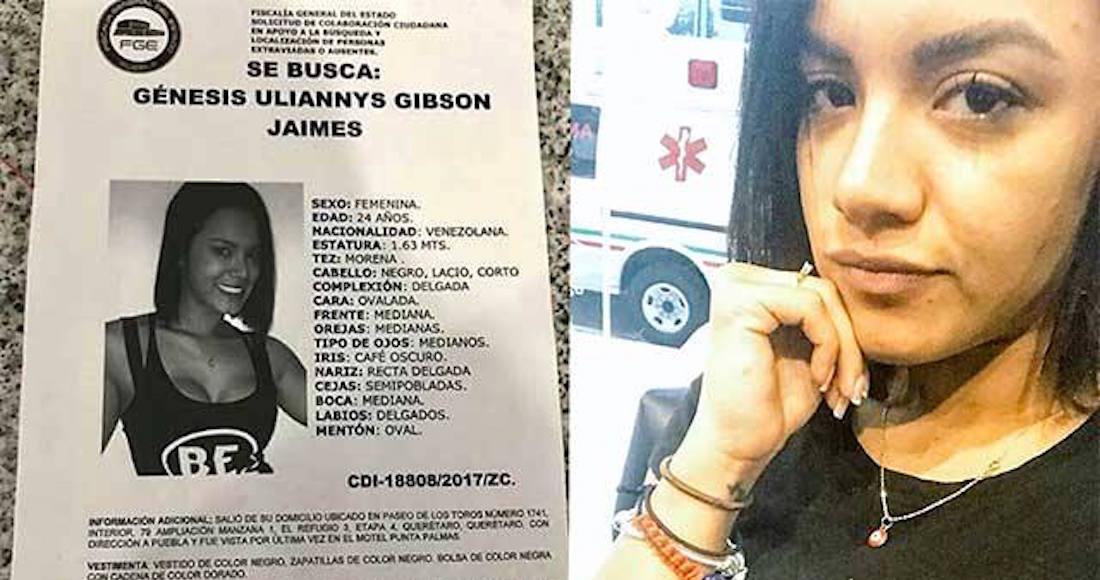 Venezolana desaparece en Puebla, comparte y ayuda a encontrarla