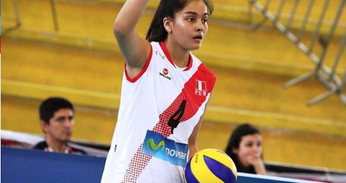 La voleibolista Alessandra Chocano murió hoy a los 16 años