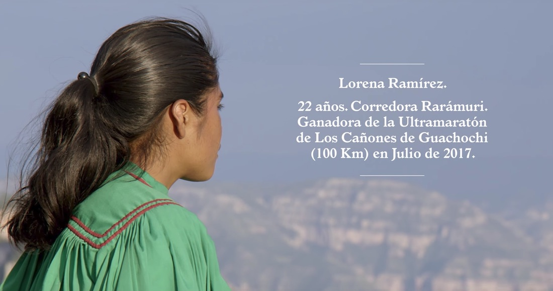 La corredora rarámuri Lorena Ramírez protagoniza video de cantautor uruguayo