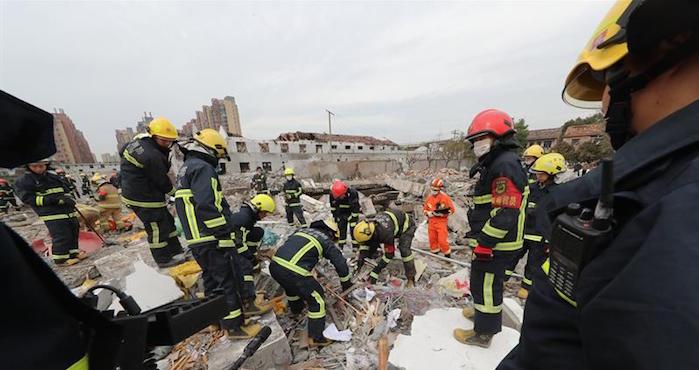 Una explosión deja 2 muertos y 30 heridos en China