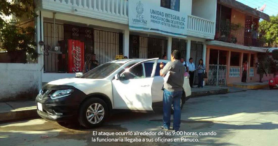 Ejecutan a Yendi Torres, Fiscal regional de Pánuco