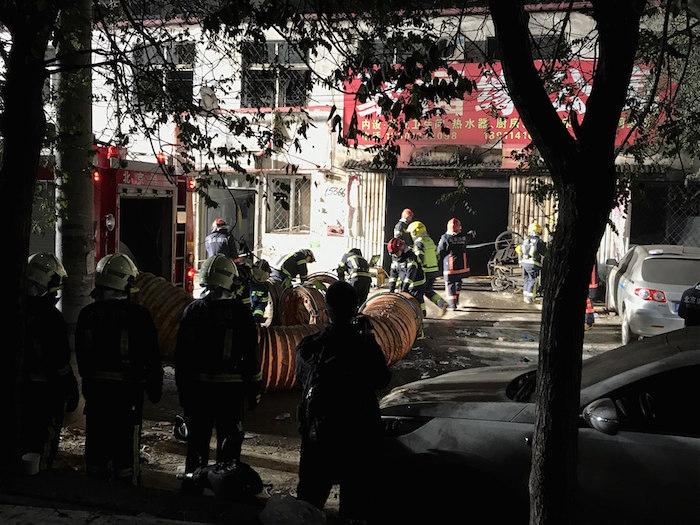 Al menos 19 muertos y 8 heridos por un incendio en China