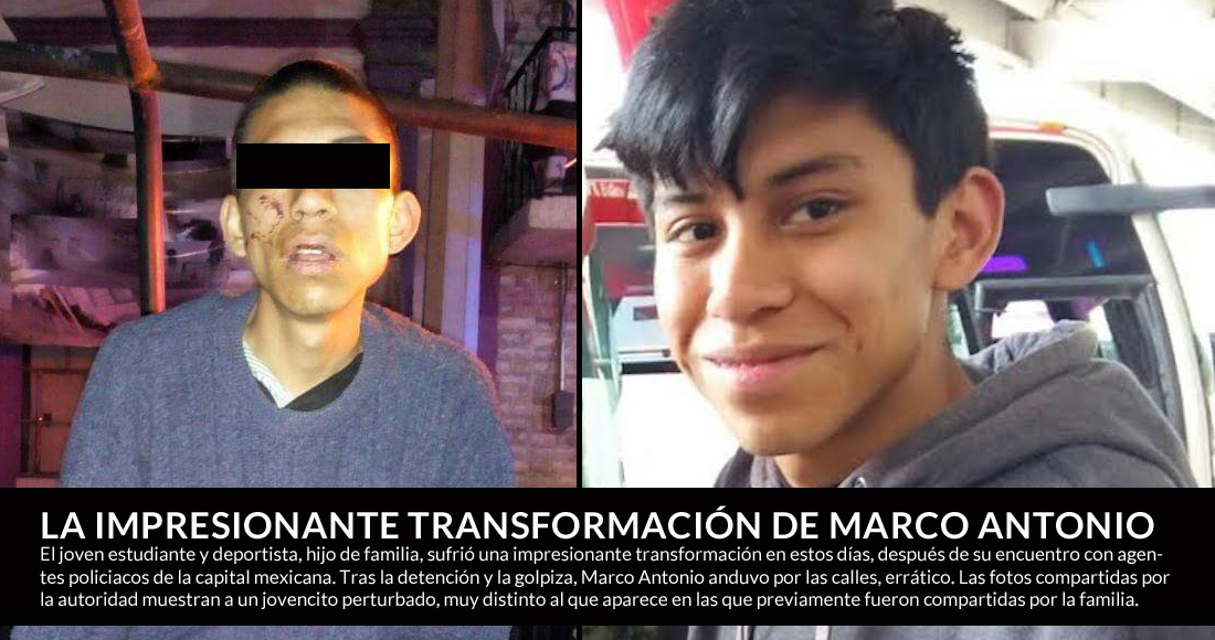 Marco Antonio ya fue localizado. Impresionante transformación, tras ...