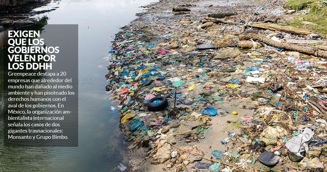 89f6cc8dfc Greenpeace  20 empresas dañan al planeta con ayuda de gobiernos  en México