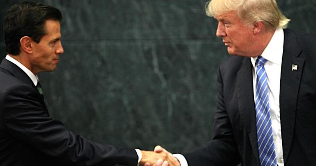 Trump a Peña en enlace telefónico — Estás Loco?