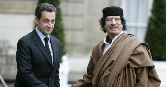 Imputan a Nicolas Sarkozy por financiamiento libio en campaña de 2007