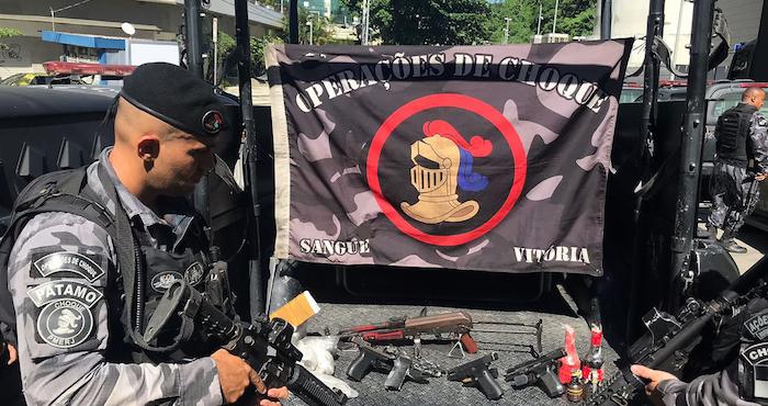 Al menos ocho muertos deja enfrentamiento entre policías y narcotraficantes en Brasil