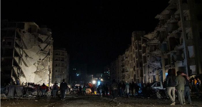 Más de 150.000 civiles huyeron de la ciudad de Afrin