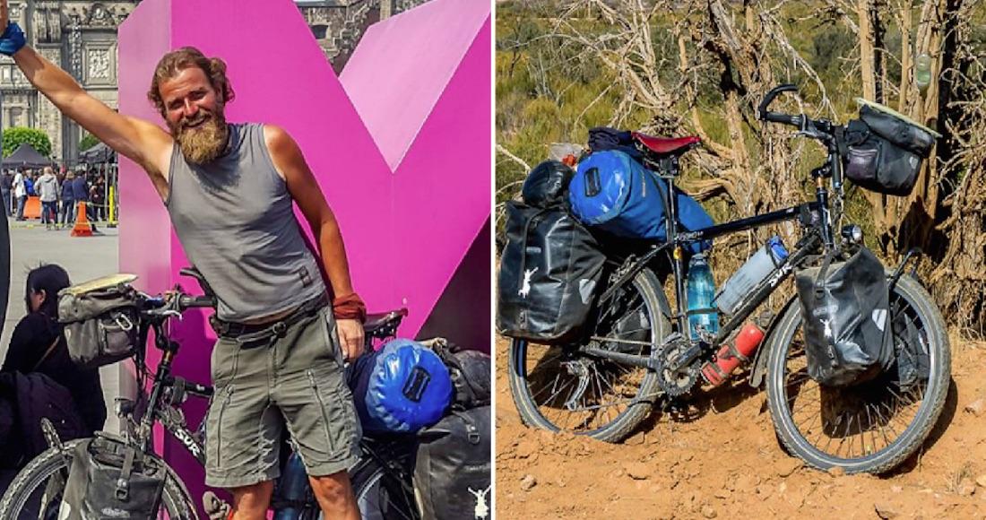 96c8cba05 El ciclista alemán Holger Franz también murió  su cadáver fue localizado en  barranco de Chiapas