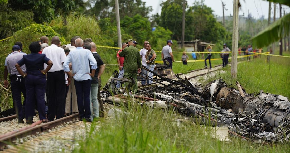 Una de las tres mujeres rescatadas del avión desplomado en Cubana ...