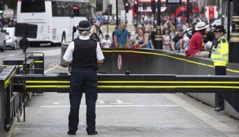 policia de londres parlamento britanico