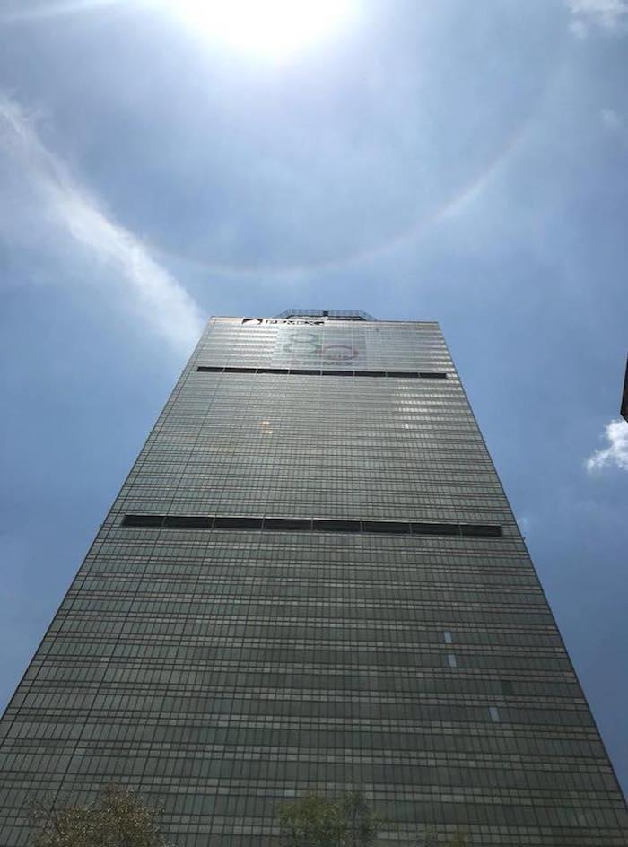 La Torre Ejecutiva Pemex es un rascacielos de 214 metros de altura.