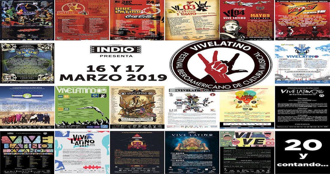 Vive Latino lanza venta especial de boletos para su edicion 20