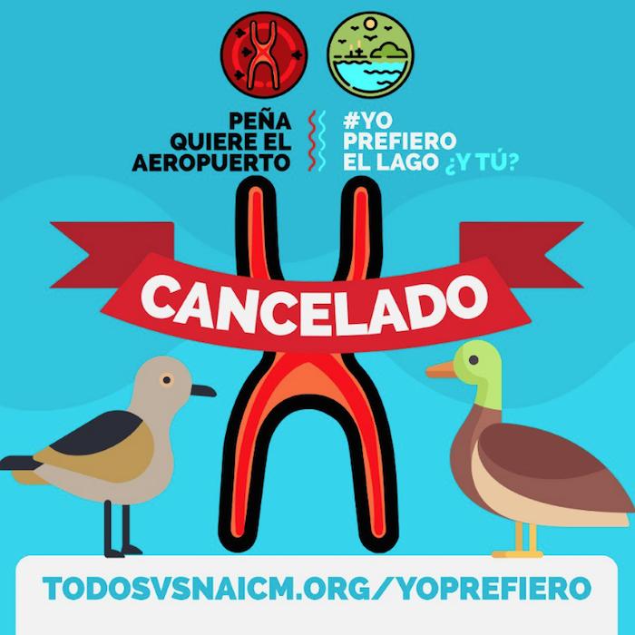 Ambientalistas y académicosinvestigadores vieron en Texcoco un sitio inviable para la construcción del aeropuerto, toda vez que constituiría un ecocidio que terminaría con los ecosistemas y las especies de la cuenca del Valle de México.