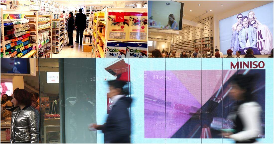Miniso cuenta con 88 tiendas ubicadas en 15 estados. Fotos  Cri Rodríguez. 5a7304c4dd9d