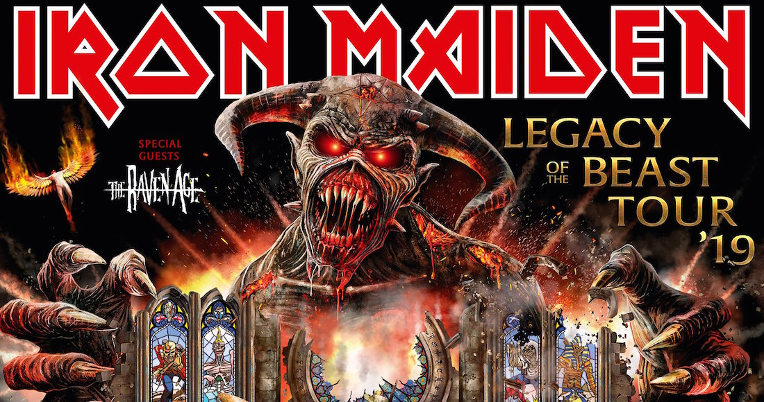 Iron Maiden regresa a México en 2019