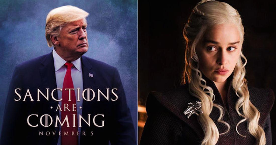 Trump Usa Tipografía De Juego De Tronos Y Hbo Le Pide No Emplear La