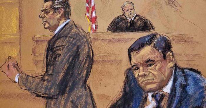 """El piloto (que luego fue gerente) empuja a """"El Chapo"""" más abajo en el infierno: da detalles de todo Juicio-chapo-eu"""
