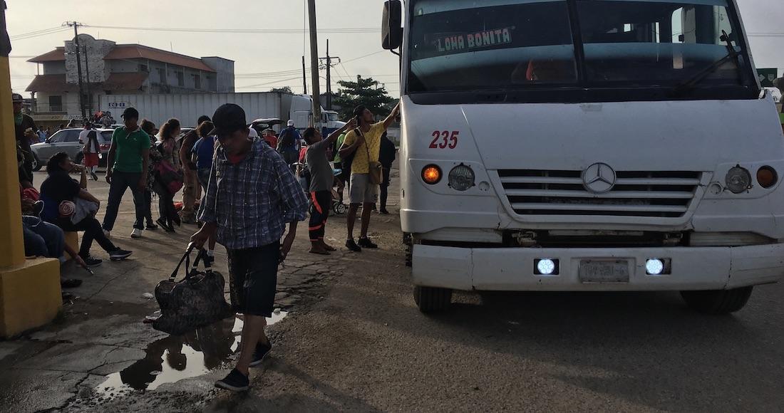 Llega parte de la caravana migrante a la CDMX