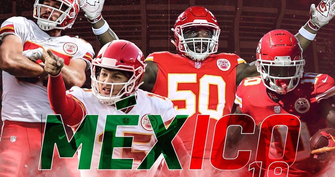 La NFL regresa a México en 2019  Chiefs y Chargers se enfrentarán en ... 7151a5da6d9