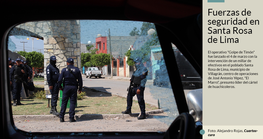 Operation against Huachicol in Guanajuato triggers war