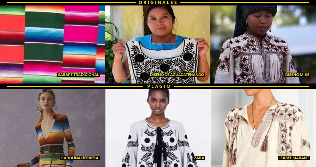 b5e92fc54c El plagio de diseños autóctonos involucra a 23 marcas sin que México las  sancione: activistas   SinEmbargo MX