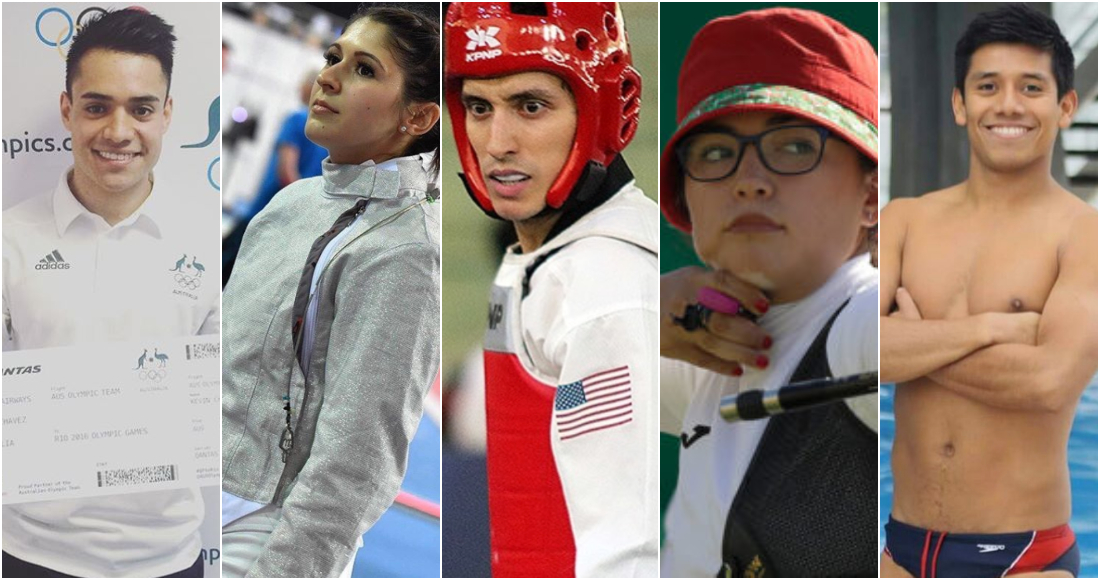 Resultado de imagen para fotos fuga de los cinco atletas mexicanos